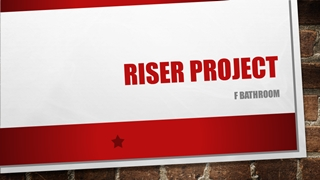 RISER PROJECT, F bathroom, The lay of the land, Wall opening for pipe exposure,