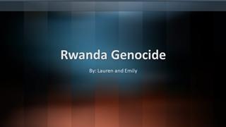 Rwanda Genocide - Loudoun County Public Schools,
