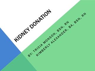 KIDNEY DONATION - The Christ Hospital,
