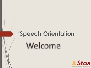 """Welcome, Speech Orientation, Stoa…, """"… trains Christian, homeschooled youth in speech and debate,"""