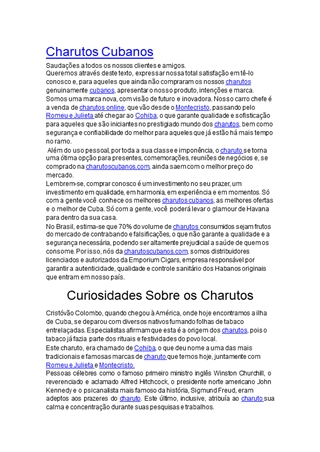 Charutos Apresentação Digital slide making software