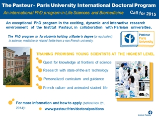 Présentation - An international PhD program in Life Sciences and Biomedicine, Call for 2015,