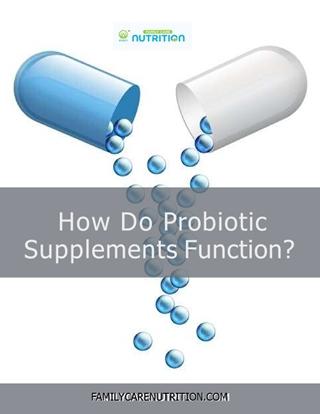 Probiotic Supplements,Online HTML PPT displaying platform