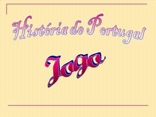 História de Port. Jogo,Online HTML PPT displaying platform
