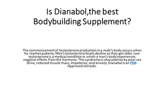 Is Dianabol,the best Bodybuilding Supplement Digital slide making software