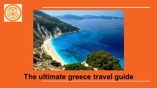 The ultimate greece travel guide Digital slide making software