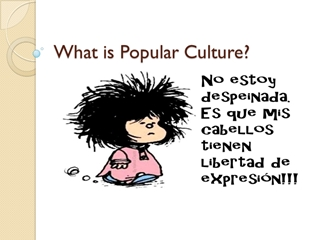 What is Popular Culture - UBC Blogs,
