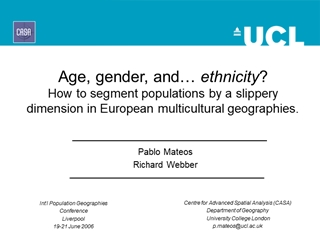 Mateos - Age, gender, and… ethnicity, How to segment populations by Digital slide making software