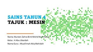 SAINS TAHUN 4- MESIN Digital slide making software