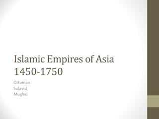Islamic Empires of Asia Digital slide making software