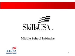 MiddleSchool - Middle School Initiative, Why the Middle School Initiative, Ten states,