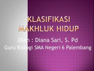 KLASIFIKASI OKE,Online HTML PPT displaying platform