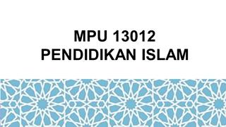 TOPIK 2-IBADAH Digital slide making software