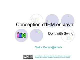 Conception d'interfaces utilisateur en Java Digital slide making software