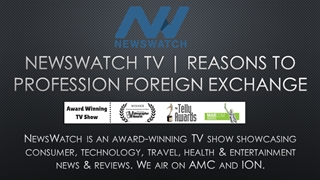 NewsWatch TV - Reasons to Profession Foreign Exchange Digital slide making software