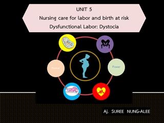 PPT Unit 5 Dysfunctional Labor (2564),Online HTML PPT displaying platform