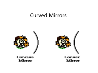 Curved Mirrors - Central Bucks School District,