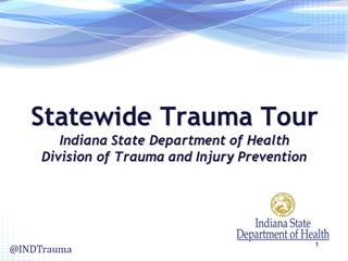 Statewide Trauma Tour Summer 2015 WEBSITE VERSION,