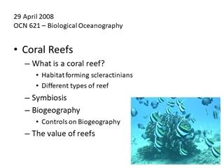 12 Nov 08 OCN 628 – Benthic Biology,