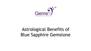 Astrological Benefits of Blue Sapphire Gemstone Digital slide making software