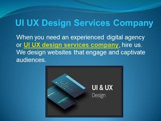UI UX Design Services Company Digital slide making software