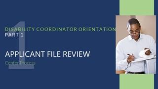Disability Coordinator Orientation Job Corps Digital slide making software