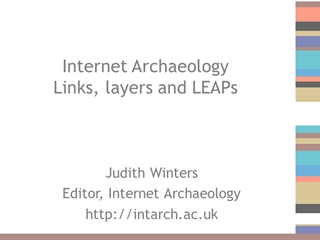 A link, a level, a layer, a LEAP digital publication Digital slide making software