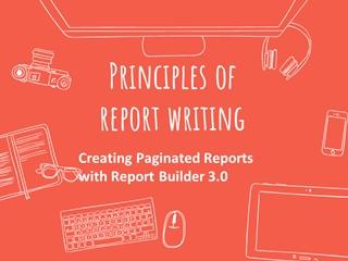 Principles of report writing Digital slide making software