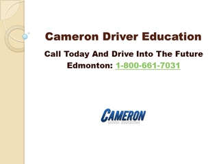Steps to become a professional truck driver in Edmonton,Online HTML PPT displaying platform