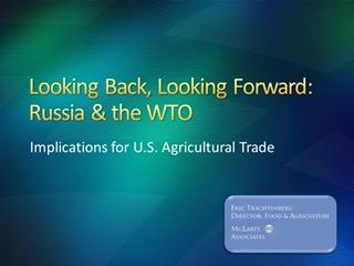 Russia's WTO - USDA,