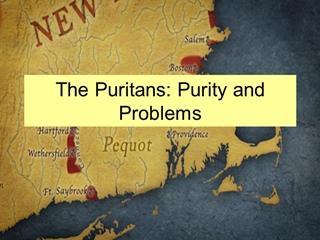 The Puritans Quixotic Americans,