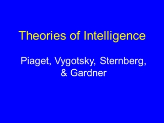 Theories of Intelligence - Kalamazoo College,