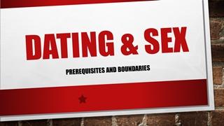 Dating & sex, Prerequisites and boundaries, God created man, women Digital slide making software