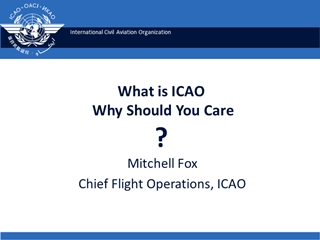 What is ICAO and Why Should You Care - IAOPA Digital slide making software