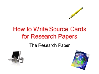 Sources and Note Taking - McLean County Public Schools,