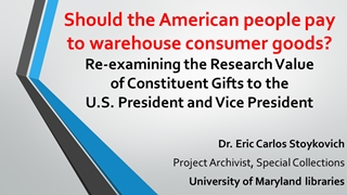 Should the American people pay to warehouse consumer …,