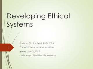 Developing Ethical Systems The Texas CPA Digital slide making software