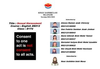 sexual harassment,Online HTML PPT displaying platform