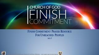 Finish Challenge 37 Prayer Points Digital slide making software
