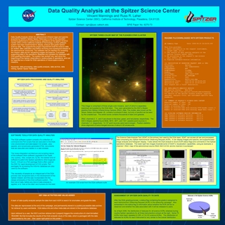 Data Quality Analysis at the Spitzer Science Center,