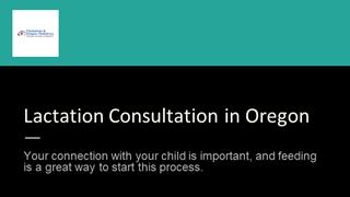 Best Lactation Consultation in Oregon,Online HTML PPT displaying platform