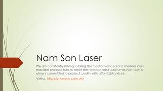 Nam Son Laser,Online HTML PPT displaying platform