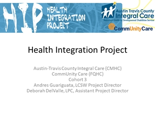 Integrating Primary and Behavioral Health in a CMHC Digital slide making software