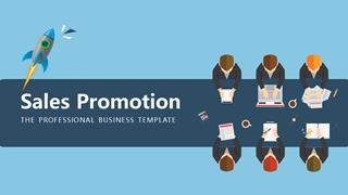 Sales Promotion,Online HTML PPT displaying platform