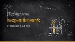 Science Experiment Report,Online HTML PPT displaying platform