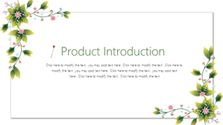 Product Introduction,Online HTML PPT displaying platform