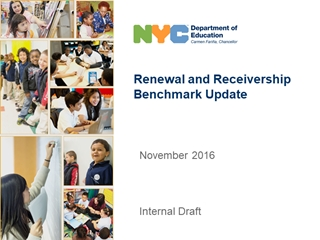 Receivership and Renewal Benchmarks 11 29,