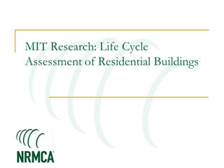 MIT Concrete Sustainability Hub - NRMCA Expanding the Digital slide making software
