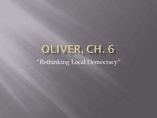 Oliver, Ch. 6 - Winthrop Digital slide making software