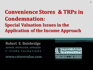 Winning Convenience Store Appraisal Reports,